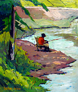 Charlie Spear - Fishing the Spillway