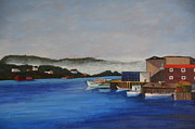 Marsha Thornton - Fishing Village