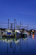 Fishing Industry Framed Prints - Fishing Village of Menemsha Framed Print by John Greim