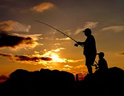 Nick Zelinsky - Fishing with Dad