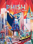 Phish - Fishman in Vegas by Joshua Morton