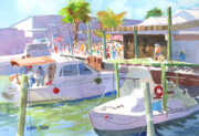 Weekend Paintings - Fishtown Festival by Kris Parins
