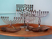 Jaci Hanson - Five Cuban Menorahs