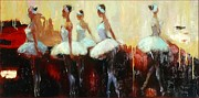 Thomas De Falco - Five dancers