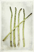 Asparagus Framed Prints - Five Framed Print by Priska Wettstein