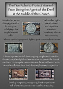 Community Service Prints - Five Rules for Churches by John McKnight 5x7 Print by Todd Fuqua