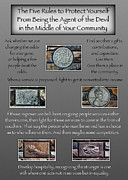 Community Service Prints - Five Rules For Communities By John Mcknight 5x7 Print by Todd Fuqua