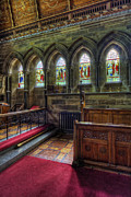 Stained Glass Windows Photos - Five Stained Glass Windows by Ian Mitchell