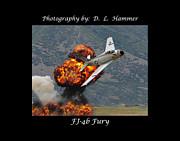 Fj-4b Fury Print by Dennis Hammer