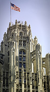Julie Palencia - Flag Flying High Tribune Tower