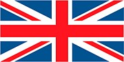 No People Paintings - Flag of the United Kingdom by Anonymous