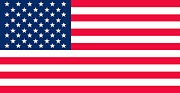 Home Paintings - Flag of the United States of America by Anonymous
