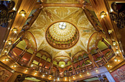 Flagler Framed Prints - Flagler College Rotunda Framed Print by Rich Franco
