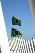 Frederico Borges Photos - Flags in the wind by Frederico Borges