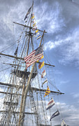 Tall Ships Posters - Flagship Niagara Poster by David Bearden