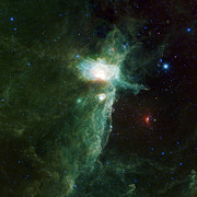 Outer Space Photos - Flame Nebula by Adam Romanowicz