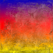 Impressionist Digital Art - Flame by Peter Tellone