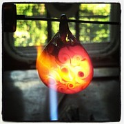 Featured Glass Art - Flame polishing by Deenie Wallace
