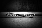No Parking Prints - Flame Retardant  Print by Mark Ross