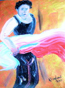The Ballet Painting Originals - Flamenco Anyone? 2 by Richard W Linford