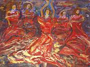 Flamenco Dancers Print by Fereshteh Stoecklein