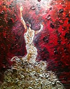 Nikki Frazier - Flamenco in White