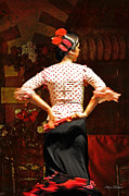 Seville Posters - Flamenco Series #5 Poster by Mary Machare
