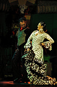 Seville Posters - Flamenco Series No 11 Poster by Mary Machare