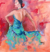 Senorita Art - Flamenco by Wendi Strauch Mahoney