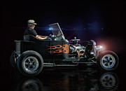 Rat Rod Studios - Flames Into The Night...