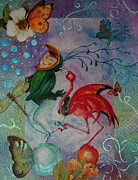 Ball Room Originals - Flamingo Circus and Friends by Tamyra Crossley