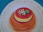 Latin Pastels - Flan by Denisse Del Mar Guevara