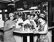 Waiter Photos - Flappers, 1928 by Granger