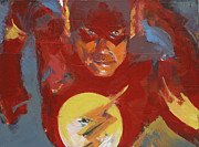 Characters Painting Originals - Flash by David Leblanc