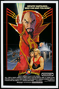 Vintage Movie Posters Art - Flash Gordon Poster by Sanely Great