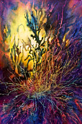 Intense Paintings - Flash by Michael Lang