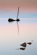 Flat Calm Shipwreck  Print by Grant Glendinning