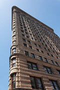 Crosswalk Photos - Flat Iron Building by Jeff Stein