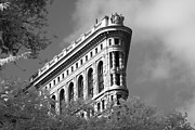 Flat Iron Building Prow Print by Dave Beckerman
