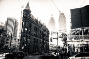 Matt Trimble Prints - Flat Iron Toronto Print by Matt  Trimble