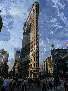 New York Tribune Prints - FlatIron Building Manhattan Print by Richard Reeve