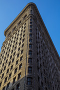 Flatiron Building Posters - Flatiron Building New York Poster by Garry Gay