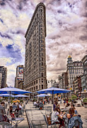 5th Ave. Prints - Flatiron Building Print by Steve Zimic
