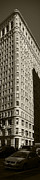 Flatiron In Sepia Print by David Bearden