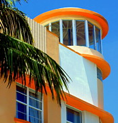 Miami Heat Photo Prints - Flavour Of Miami Print by Karen Wiles