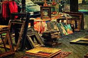 Flea Market Photos - Flea Market. Amsterdam by Jenny Rainbow