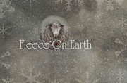 Fleece Posters - Fleece on Earth Poster by Robin-lee Vieira