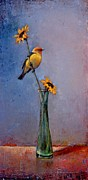 Bird Prints Art - Fleeting Summer by Lori  McNee