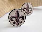 Royal Jewelry - FLEUR DE LIS Cufflinks by Rony Bank