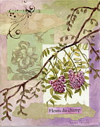 Fleurs Du Champ Print by Tamyra Crossley